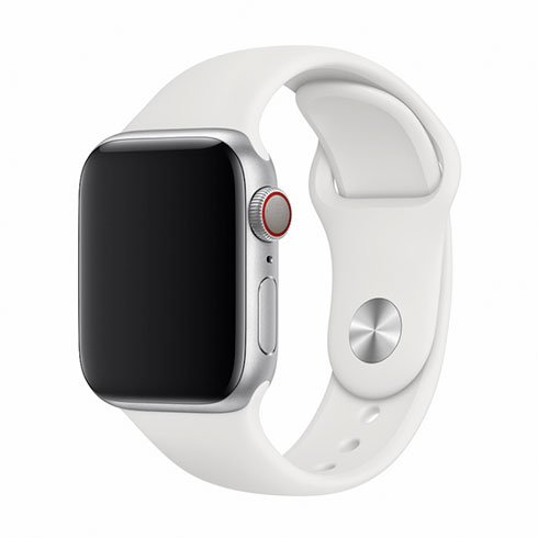 Devia Apple Watch Deluxe Series Sport Band (40mm) White