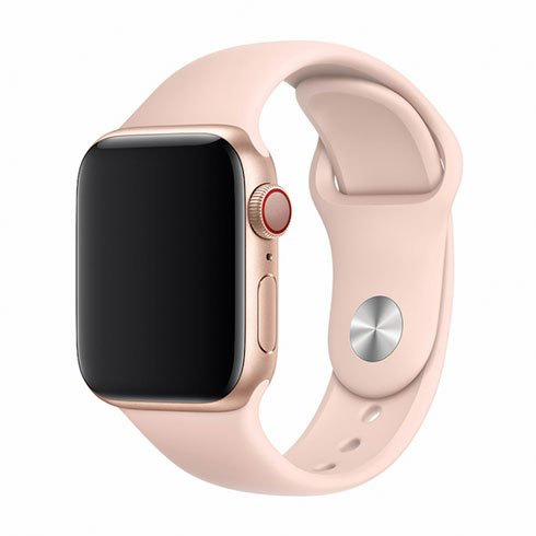Devia Apple Watch Deluxe Series Sport Band (44mm) Pink Sand