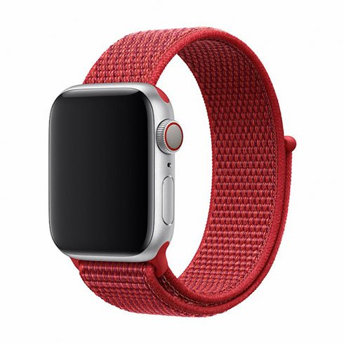 Devia Apple Watch Deluxe Series Sport3 Band (40mm) Red