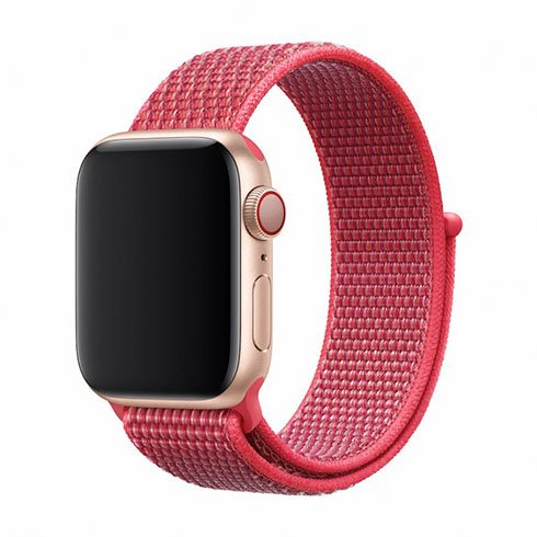 Devia Apple Watch Deluxe Series Sport3 Band (44mm) Hibiscus