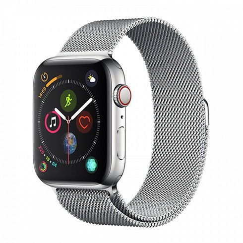 Devia Apple Watch Elegant Series Milanese Loop (40mm) Silver