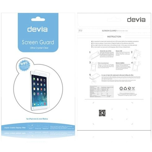Devia fólia High Transparent Screen Protector pre iPad mini/2/3