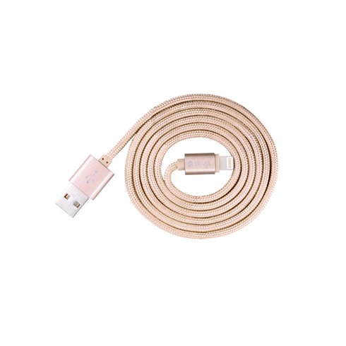 Devia kábel Fashion Cable USB to lightning 1m - Rose Gold