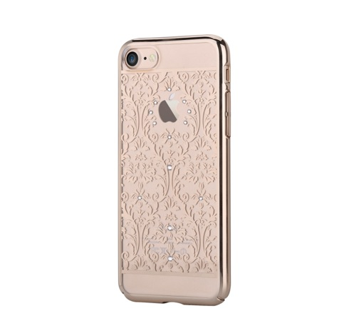 Devia kryt Crystal Baroque pre iPhone 7 - Champagne Gold