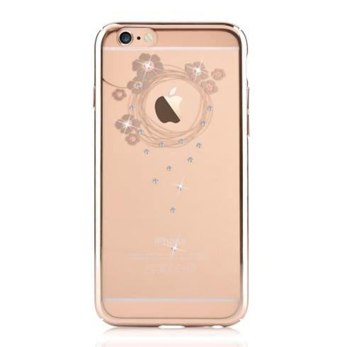 Devia kryt Crystal Garland pre iPhone 6/6s - Champagne Gold