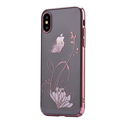 Devia kryt Crystal Lotus Case pre iPhone X/XS - Red