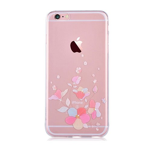Devia kryt Crystal Soft Case Belis pre iPhone 6 Plus/6s Plus - Pink