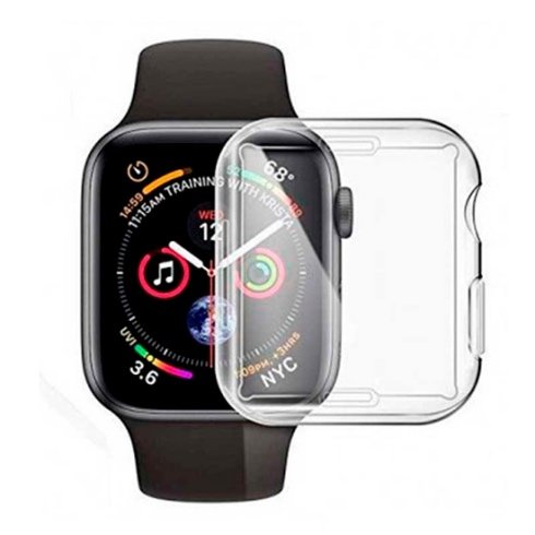 Devia kryt Dazzle Series pre Apple Watch 4 44mm - Clear
