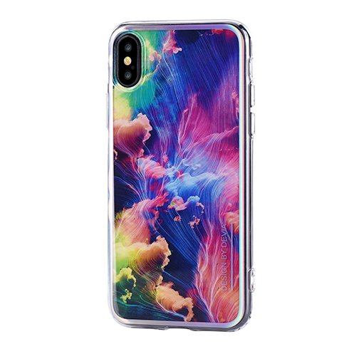 Devia kryt Landscape Case pre iPhone X/XS - Colorful