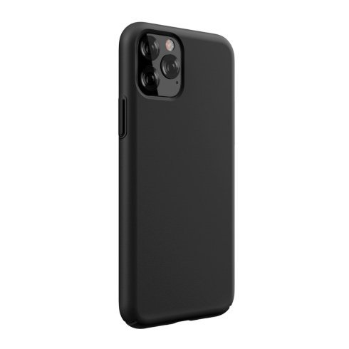 Devia kryt Nature Series Silicone Case pre iPhone 11 Pro Max - Black