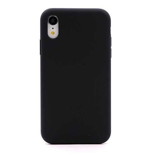 Devia kryt Nature Series Silicone Case pre iPhone XR - Black