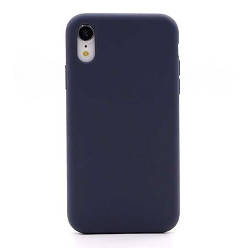 Devia kryt Nature Series Silicone Case pre iPhone XR - Blue