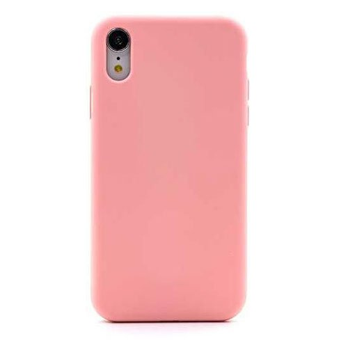 Devia kryt Nature Series Silicone Case pre iPhone XR - Pink