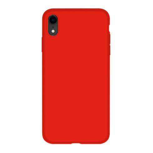 Devia kryt Nature Series Silicone Case pre iPhone XR - Red