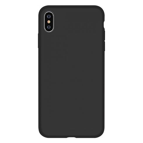 Devia kryt Nature Series Silicone Case pre iPhone XS - Black