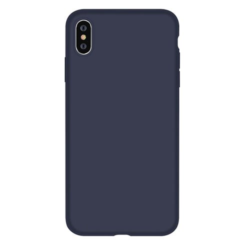 Devia kryt Nature Series Silicone Case pre iPhone XS - Blue