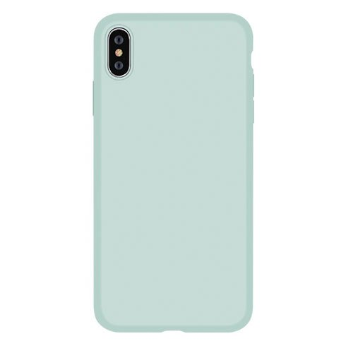 Devia kryt Nature Series Silicone Case pre iPhone XS - Green