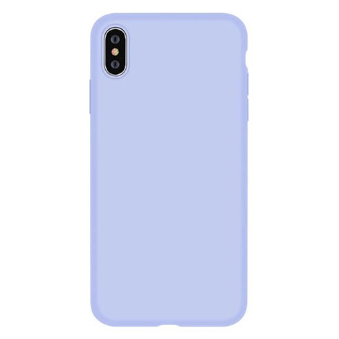 Devia kryt Nature Series Silicone Case pre iPhone XS - Purple