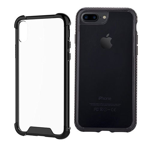 Devia kryt Shockproof TPU Case pre iPhone 7 Plus/8 Plus - Black
