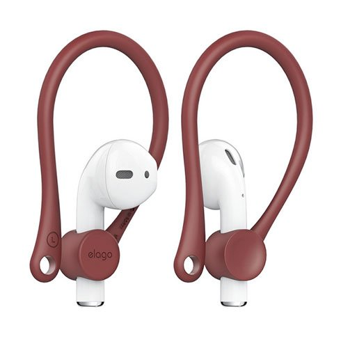 Elago Airpods Earhook - Red