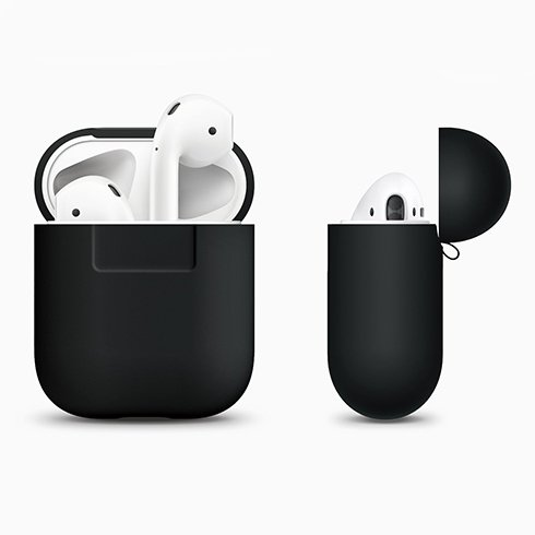 Elago Airpods Silicone Case - Black