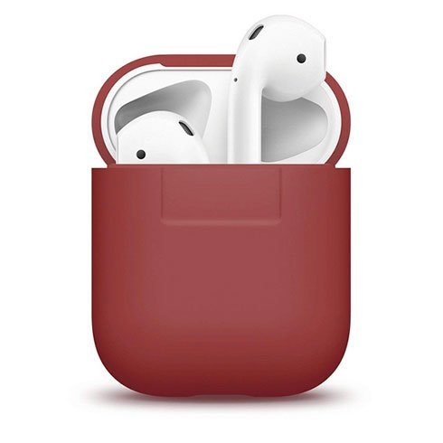 Elago Airpods Silicone Case - Red