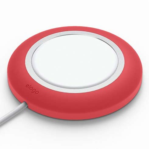 Elago MS Charging Pad pre MagSafe - Red