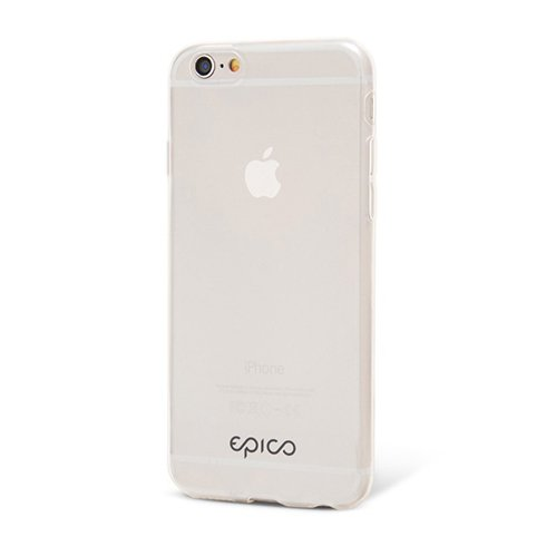 EPICO kryt 0,3mm TWIGGY GLOSS pre iPhone 6/6s - White Transparent