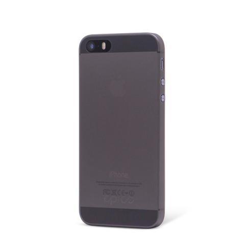 EPICO kryt TWIGGY MATT pre pre iPhone 5 5S SE - Black Transparent 881b8b7f874