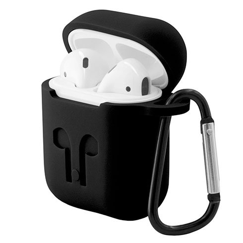 EPICO OUTDOOR COVER AirPods - čierna