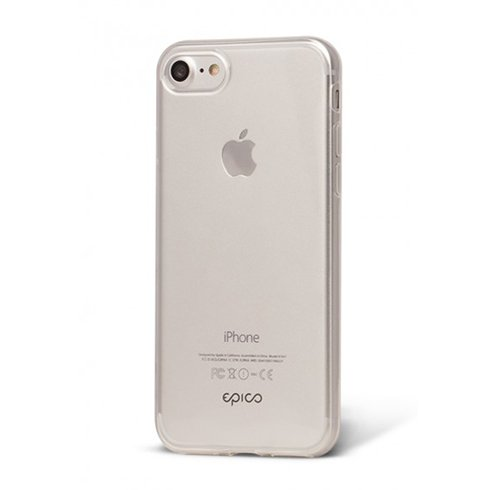 EPICO ultratenky kryt TWIGGY GLOSS pre iPhone 7 - biely transparentny c26521a943a