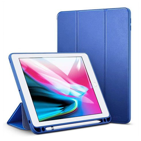 "ESR puzdro Color Edition Plus pre iPad 9.7"" 2017/2018 - Navy Blue"