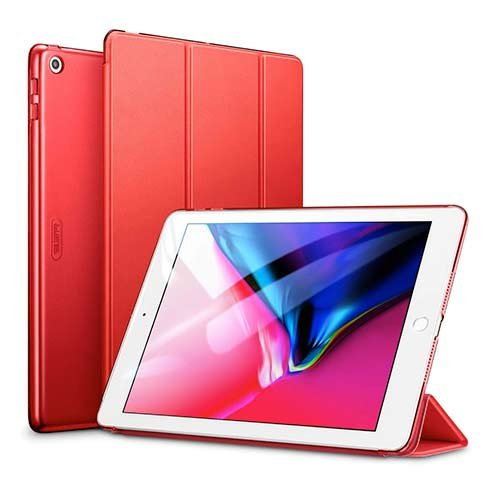 "ESR puzdro Color Edition pre iPad 9.7"" 2017/2018 - Red"