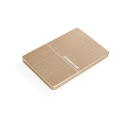 "Freecom HDD 2.5"" 1TB USB 3.0 Slim Mobile Drive Metal Gold"