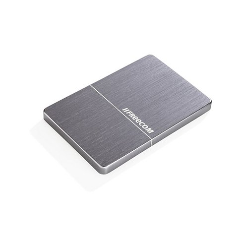 "Freecom HDD 2.5"" 1TB USB 3.0 Slim Mobile Drive Metal Space Grey"