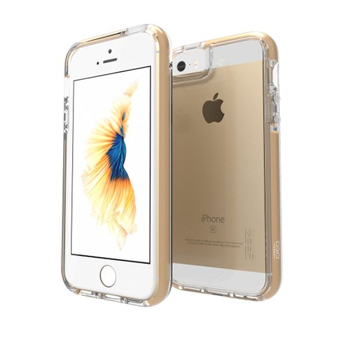 GEAR4 kryt Piccadilly D30 pre iPhone SE/5s/5 - Gold
