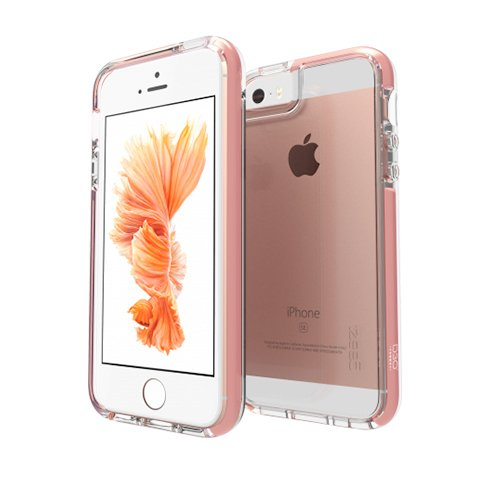 GEAR4 kryt Piccadilly D30 pre iPhone SE/5s/5 - Rose Gold