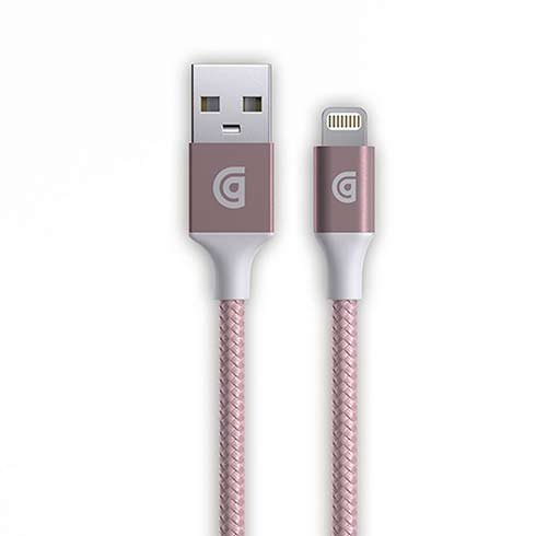 Griffin kábel USB to Lightning Cable premium 1.5m - Rose Gold