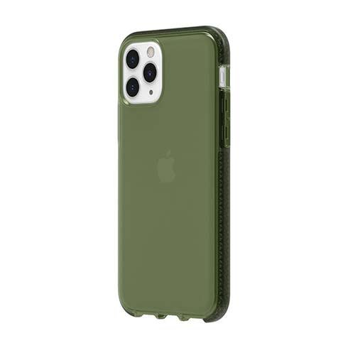 Griffin kryt Survivor Clear pre iPhone 11 Pro - Bronze Green