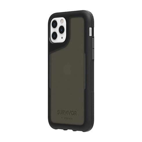 Griffin kryt Survivor Endurance pre iPhone 11 Pro - Black/Gray/Smoke