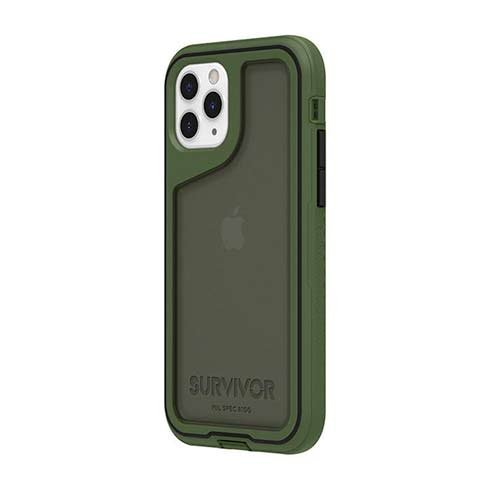 Griffin kryt Survivor Extreme pre iPhone 11 Pro - Green/Black/Smoke