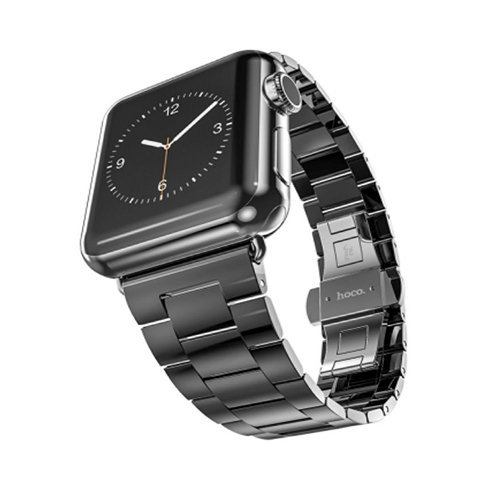HOCO remienok Grand Series pre Apple Watch 38/40 mm - Black