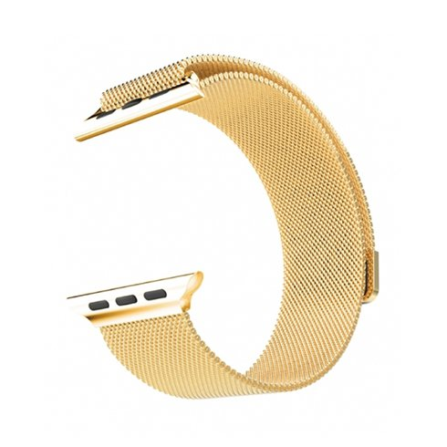 HOCO remienok Milanese Edition pre Apple Watch 38/40 mm - Gold