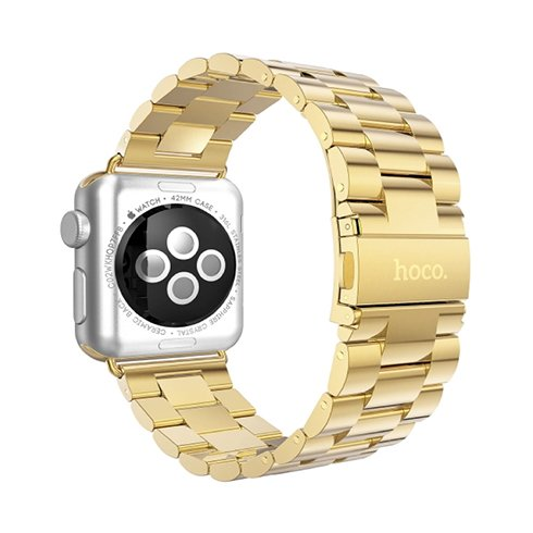 HOCO remienok Premium Edition pre Apple Watch 42/44 mm - Gold