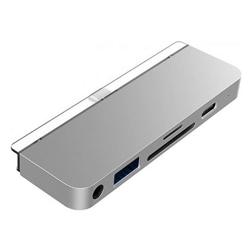 "Hyper USB-C Hub HyperDrive 6-in-1 pre iPad Pro/Air 10.9"" 2020 - Silver"
