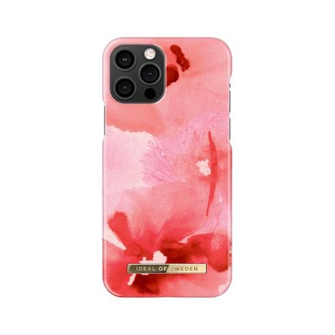 iDeal Fashion Case iPhone 12/12 Pro Coral Blush Floral