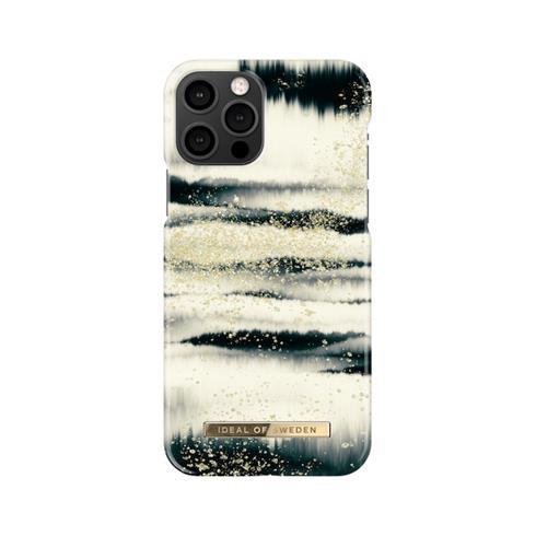 iDeal  Fashion Case iPhone 12/12 Pro Golden Tie Dye