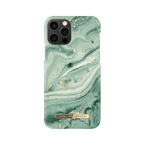 iDeal  Fashion Case iPhone 12/12 Pro Mint Swirl Marble