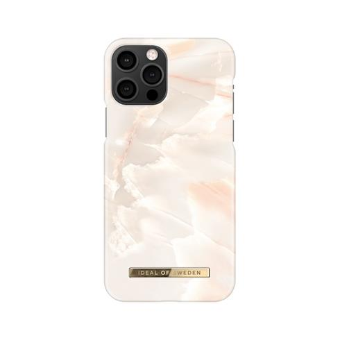 iDeal  Fashion Case iPhone 12/12 Pro Rose Pearl Marble