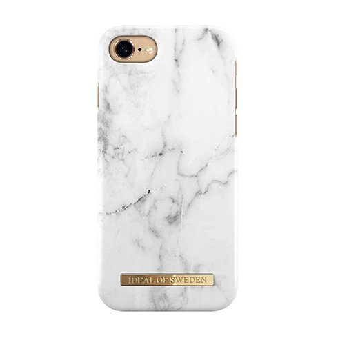 iDeal Fashion Case iPhone 8/7/6/6S/SE White Marble